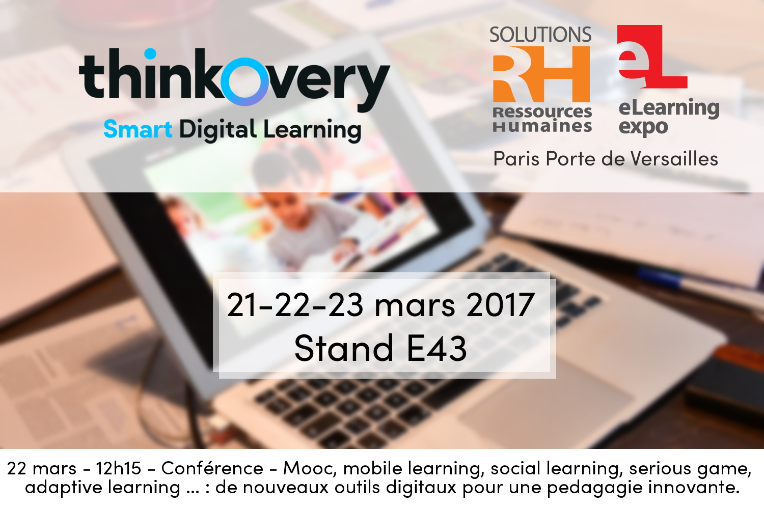 Thinkovery au salon solutions rh du 21 au 23 mars 2017 for Salon solutions