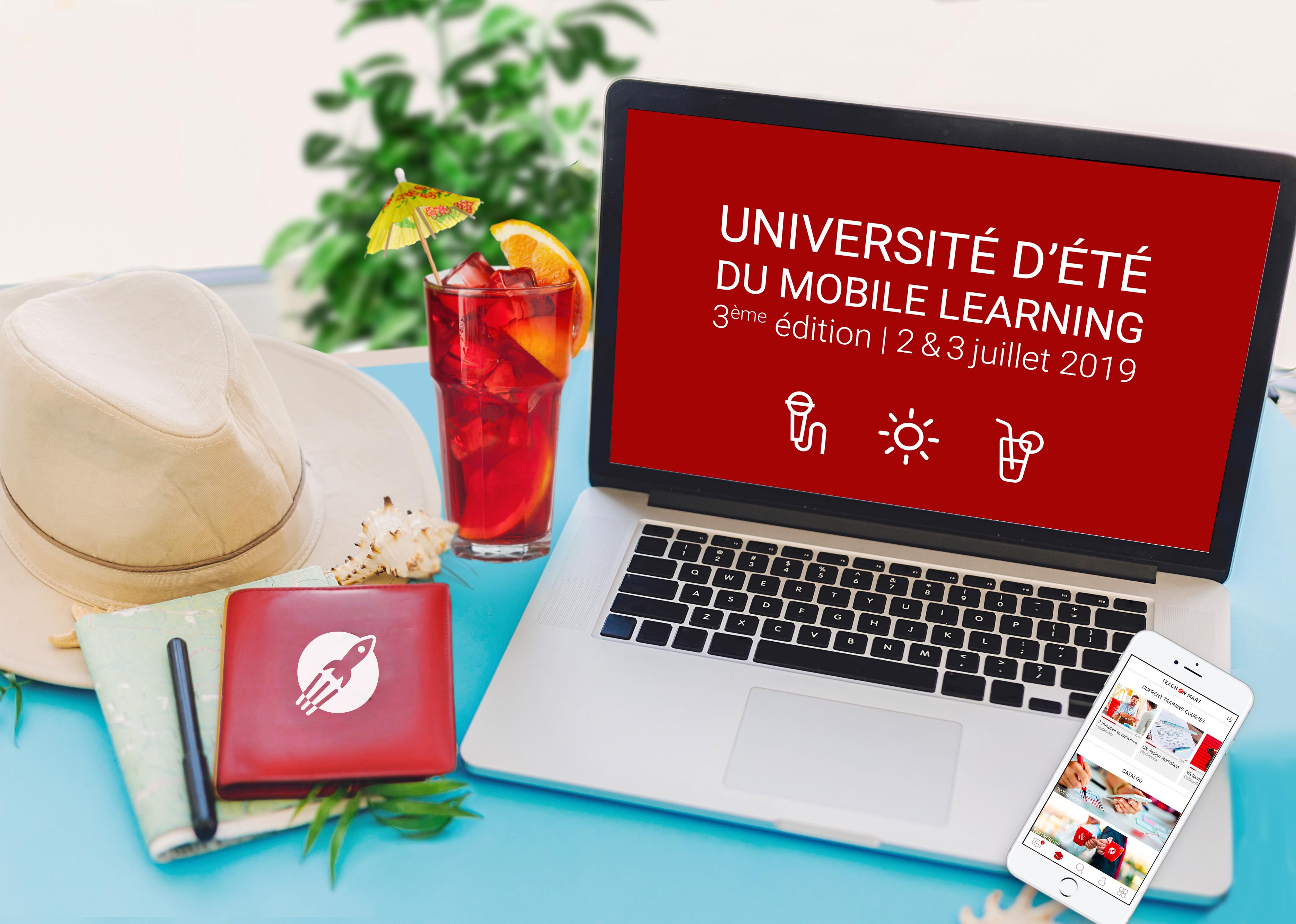 [ACTU ADHÉRENT] Teach on Mars organise la troisième édition de l'Université d'Été du Mobile Learning Les 2 et 3 juillet